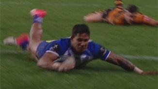 Rd18 Wests Tigers v Bulldogs (Hls)