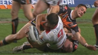 Rd23 Wests Tigers v Dragons (1)