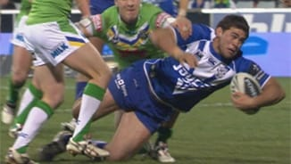 Rd25 Raiders v Bulldogs (2)