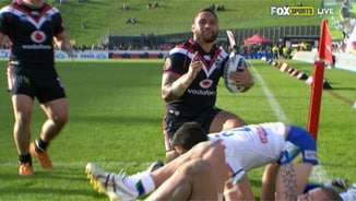 Rd26 Warriors v Raiders (1)