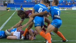 Rd3: Titans v Sea Eagles (1)