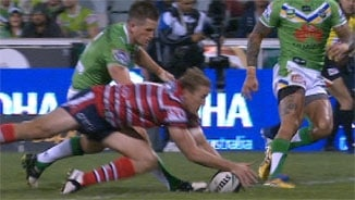 Rd5: Raiders v Roosters (1)