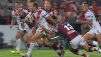 Rd 8: Dragons v Sea Eagles (2)