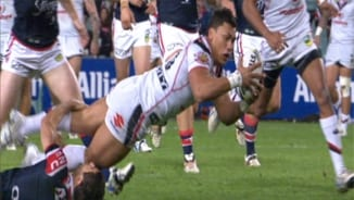 Rd 14: Roosters v Warriors (1)