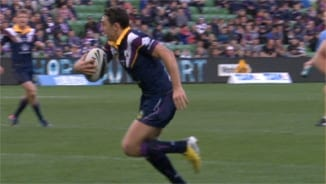 Rd 14 Top 5 Attacking: Billy Slater Try v Knights