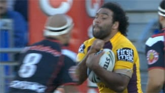 Rd 16 Top 5 Defensive: Sam Thaiday v Warriors