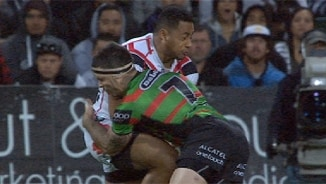Rd 17 Top 5 Defensive: Ngani Laumape v Rabbitohs