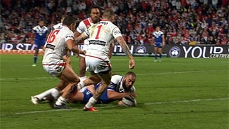 Rd 21: Dragons v Bulldogs (2)