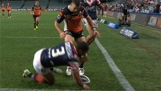 Rd 23 Wests Tigers v Roosters (Hls)