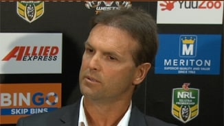 Rd 23 Press Conference: Wests Tigers