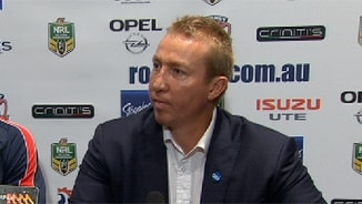 Rd 25 Press Conference: Roosters
