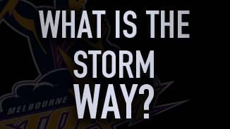 What is the Storm Way? Cameron Smith