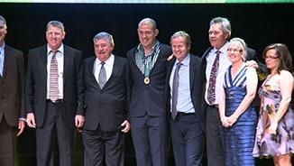 Campese wins Ken Stephen Medal