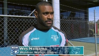 Wes Naiqama talks about Sunday's NSW Cup Grand Final
