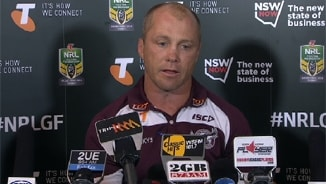 GF Press Conference: Sea Eagles