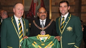 Kangaroos Civic Reception