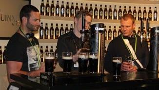 Kangaroos visit Guinness Factory
