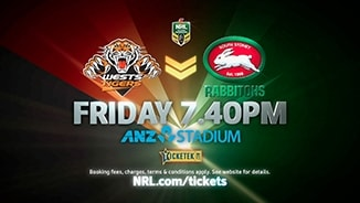 Tigers v Rabbitohs: Get your tickets