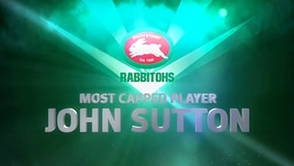 Rabbitohs most capped - John Sutton