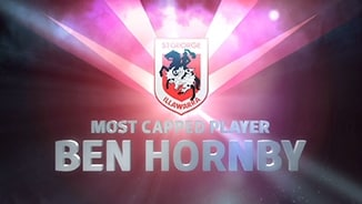 Dragons most capped - Ben Hornby