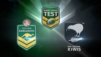 Rugby League Test: Australia v NZ