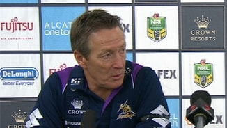 Rd 10 Press Conference: Storm