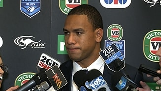Blues jersey a dream come true: Hopoate