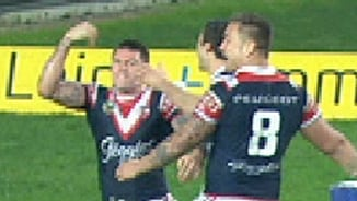 Rd 14: Roosters v Knights (Hls)