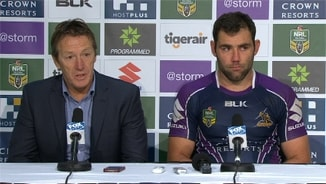 Rd 15 Press Conference: Storm