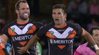 Rd 16: Wests Tigers v Raiders (Hls)