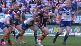 Rd 19: Wests Tigers v Bulldogs (2)