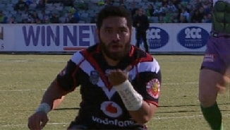 Rd 21 Magic Moment: Raiders v Warriors