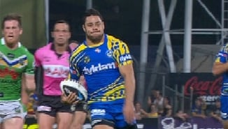 Rd 22 Magic Moment: Eels v Raiders