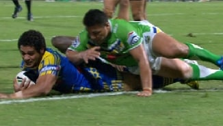 Rd 22: Eels v Raiders (2)