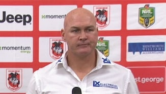 Rd 22 Press Conference: Dragons