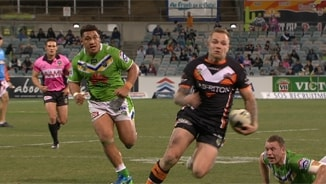 Rd 25: Raiders v Wests Tigers (2)