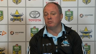 Rd 25 Press Conference: Sharks