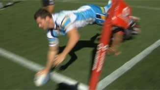 Rd 8 Magic Moment: Warriors v Titans