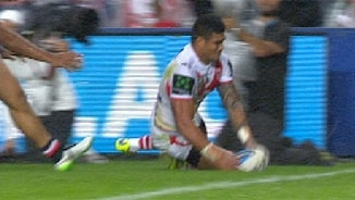 Rd 8 Magic Moment: Roosters v Dragons