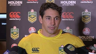 Kangaroos Media: Billy Slater