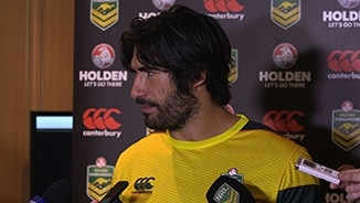 Kangaroos Media: James Tamou