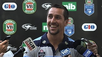 NSW VB Blues Media: Mitchell Pearce