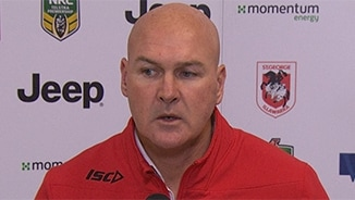 Rd 17 Press Conference: Dragons