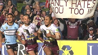 Rd 17 Magic Moment: Sea Eagles v Sharks