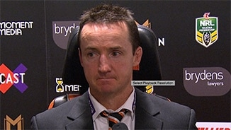 Rd 21 Press Conference: Wests Tigers