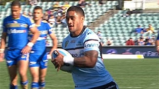 Rd 25 Magic Moment: Eels v Sharks