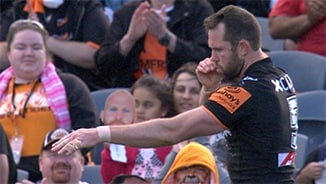 Rd 25: Wests Tigers v Warriors (Hls)