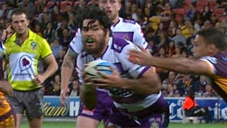 Rd 26 Magic Moment: Broncos v Storm
