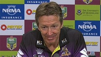 Rd 26 Press Conference: Storm