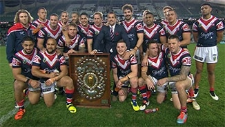Rd 26: Roosters v Rabbitohs (Hls)